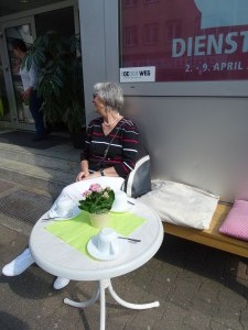 Straßencafé